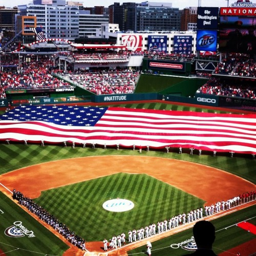 Nats Opening Day 2013