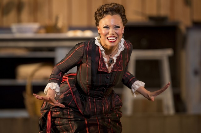 Alyson Cambridge as Julie LaVerne. Photo by Scott Suchman.