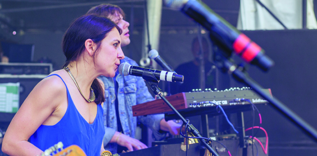Dreampop band Haerts (Photo courtesy Sweetlife Festival)