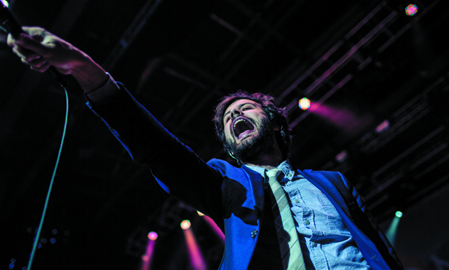 Michael Angelakos of Passion Pit (Photo courtesy Sweetlife Festival)