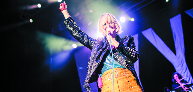 Karen O of the Yeah Yeah Yeahs (Photo courtesy Sweetlife Festival)