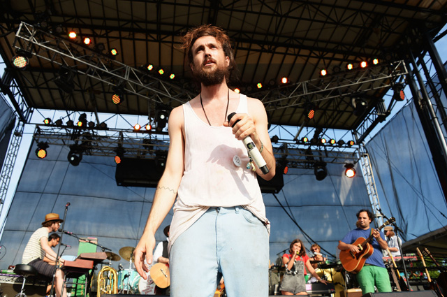 Edward Sharpe and the Magnetic Zeros at Firefly (Photo by Theo Wargo, Getty Images)