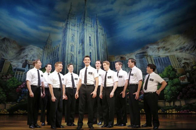The Book of Mormon First National Tour Company / credit: Joan Marcus