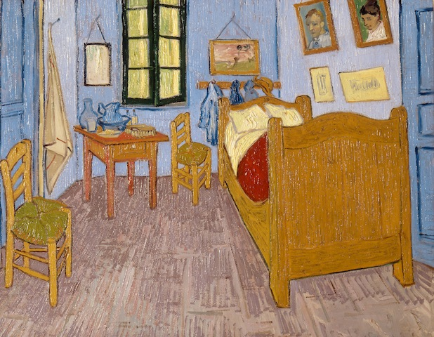 Van Gogh's Bedroom in Arles, 1889, Musée d'Orsay, Paris
