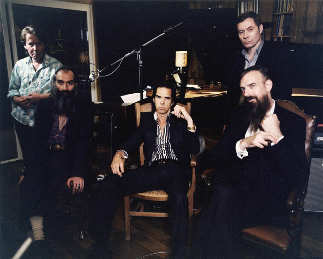 Nick Cave and the Bad Seeds (Photo by Cat Stevens)