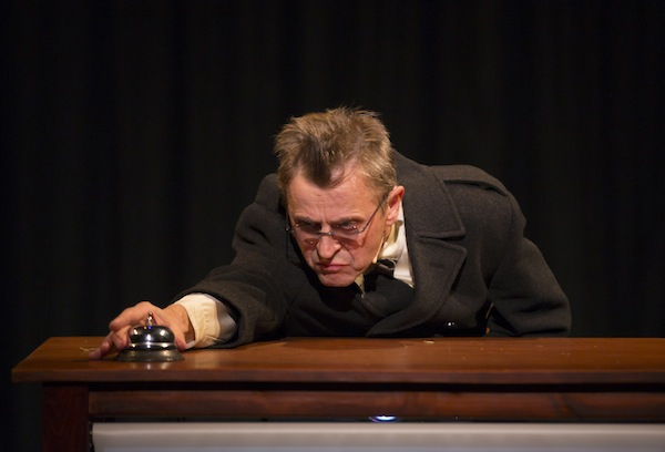 Mikhail Baryshnikov in Man in a Case. Photo credit: T. Charles Erickson.
