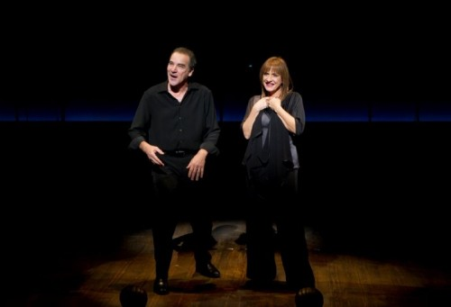 Patti Lupone and Mandy Patinkin. Photo credit Joan Marcus