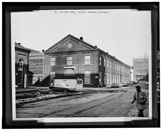 Washington Navy Yard circa 1950