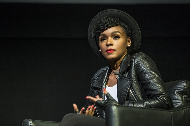 Janelle Monae speaks (Photo courtesy Moogfest)