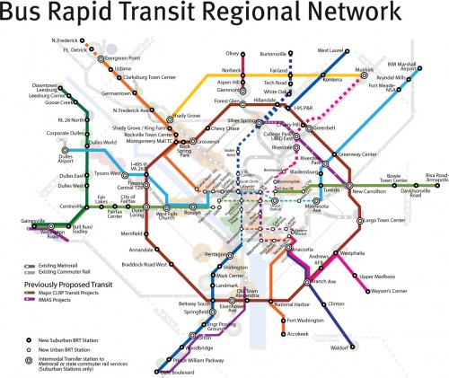 New Bus Rapid Transit proposal from 2010