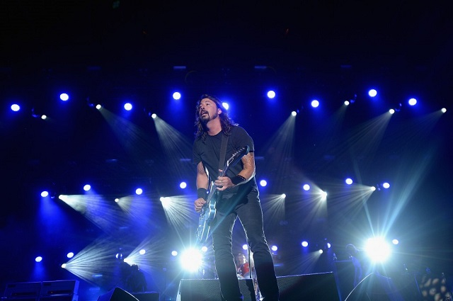 Dave Grohl at Firefly (Photo courtesy Firefly Music Festival)