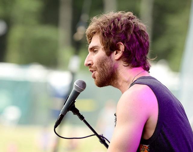 Sean Scanlon, vocalist of Smallpools (photo courtesy Firefly Music Festival)