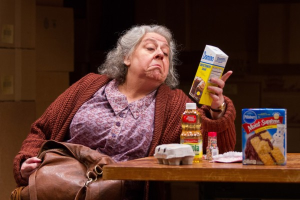 Jayne Houdyshell as Alma in The Shoplifters at Arena Stage at the Mead Center for American Theater, September 5-October 19, 2014. Photo by Teresa Wood.