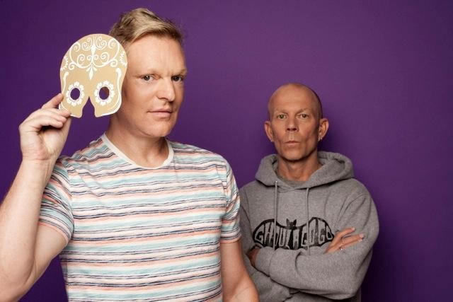 Andy Bell and Vince Clarke (Photo by Joe Dilworth)