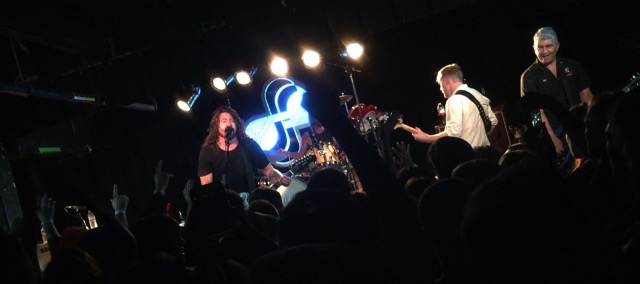 Foo Fighters at Black Cat
