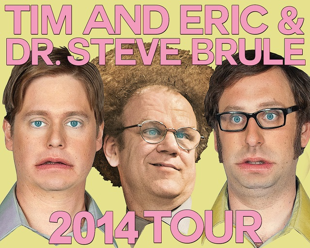 Tim and Eric @ Dr. Steve Brule Live @ Lincoln Theatre 10/9
