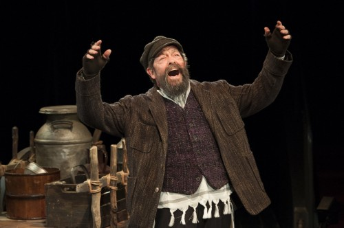 Jonathan Hadary as Tevye in Fiddler on the Roof at Arena Stage at the Mead Center for American Theater October 31, 2014-January 4, 2015. Photo by Margot Schulman.